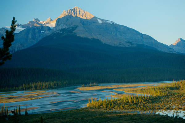 Mt. Wilson Photograph - Mt Erastmas At Dawn by Douglas Barnett