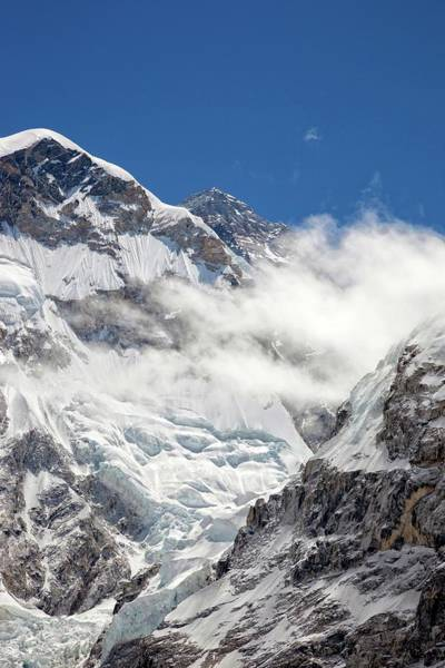 Khumbu Wall Art - Photograph - Mt Everest, Nepal by Jason Maehl