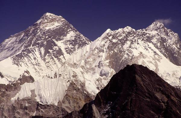 Himalaya Wall Art - Photograph - Mt Everest, Sagarnatha National Park by Paul Dymond