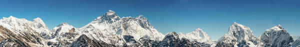 Gokyo Photograph - Mt Everest Soaring Over Himalaya by Fotovoyager