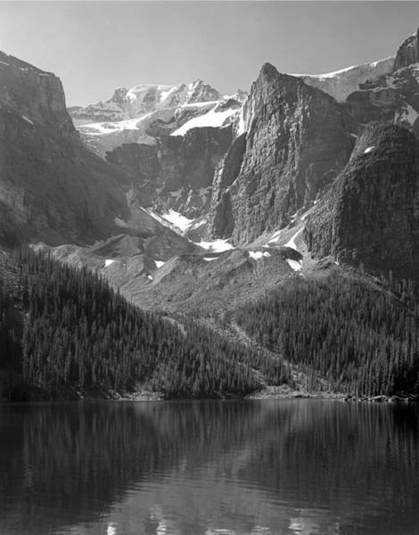 Photograph - 1m3432-bw-mt. Fay by Ed  Cooper Photography