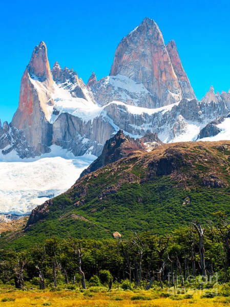 Wall Art - Photograph - Mt Fitz Roy by JR Photography