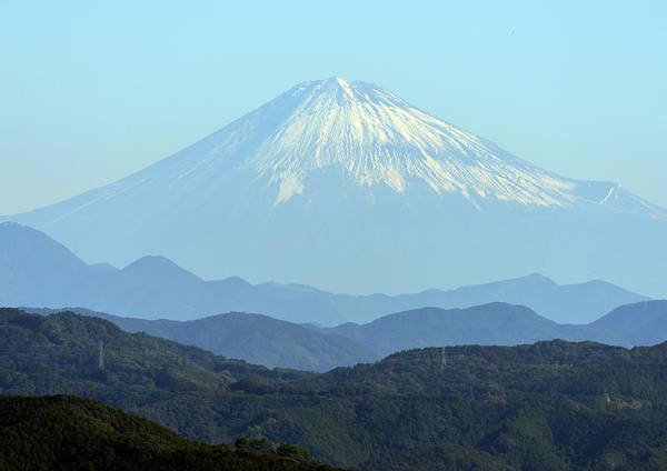 Japanese Culture Photograph - Mt. Fuji by M. Miyata