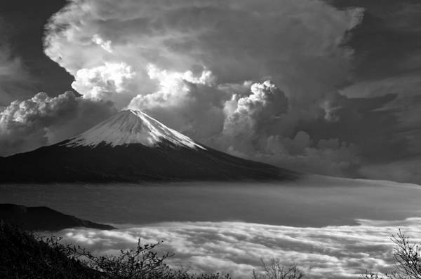 Wall Art - Photograph - Mt. Fuji Of Japan by Daniel Hagerman