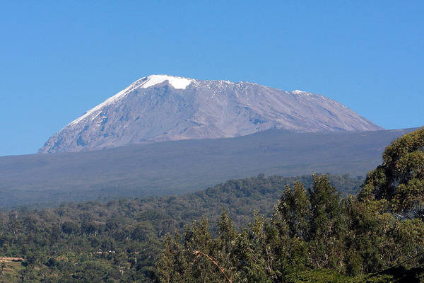 Photograph - Mt Kilimanjaro  by Aidan Moran