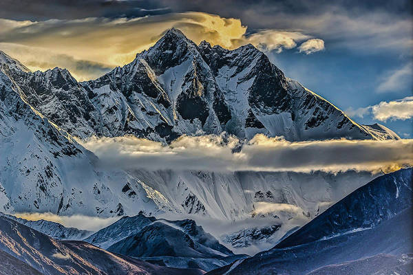Wall Art - Photograph - Mt Lhotse by David Danz