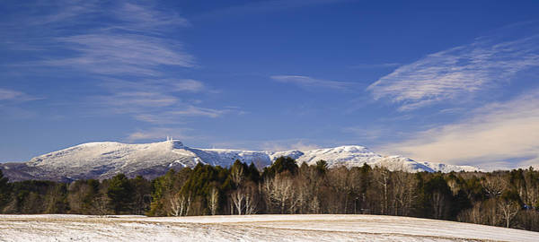 Photograph - Mt. Mansfield Vermont by Robert Mitchell
