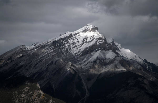 Photograph - Mt. Norquay by Kim Aston