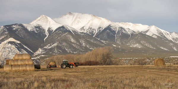 Toil Photograph - Mt. Princeton Farmer by Aaron Spong