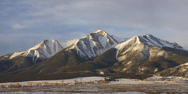 Mt. Princeton Sunrise Art Print