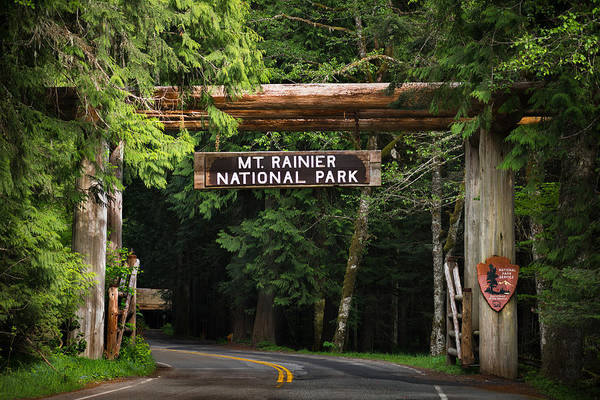 Entry Photograph - Mt Rainier Gateway by Steve Gadomski