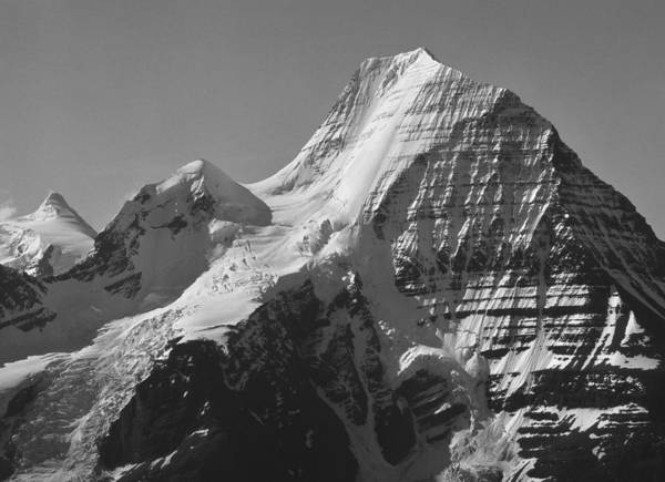 Photograph - Mt. Robson Ne Ice Face by Ed  Cooper Photography