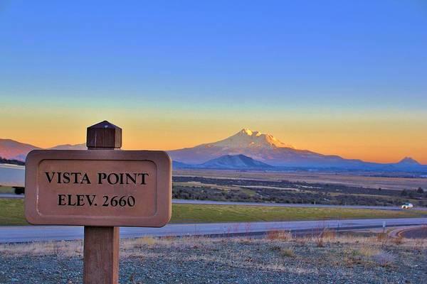 Fantasy Wall Art - Photograph - Mt. Shasta by Tony Castle