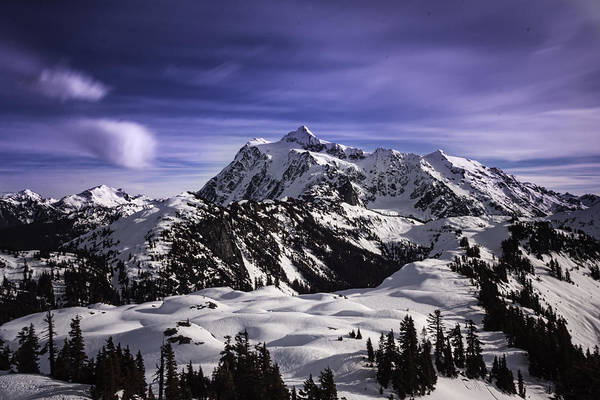 Snowshoe Photograph - Mt. Shucksan The Great by Ryan McGinnis