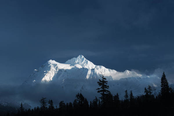 Photograph - Mt Shuksan by Crystal Hoeveler