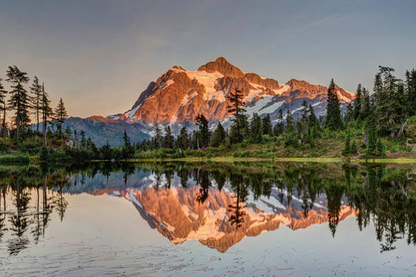 Photograph - Mt. Shuksan Picture Lake by Pierre Leclerc Photography