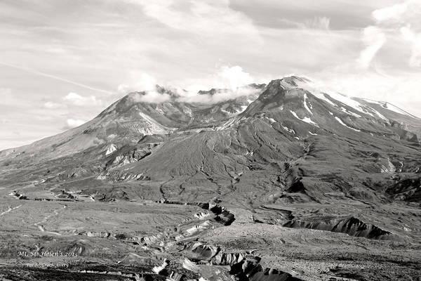 Photograph - Mt St Helen's by Pat McGrath Avery