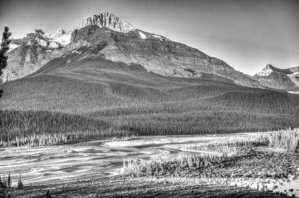 Mt. Wilson Photograph - Mt Starbach And River Flats by Douglas Barnett