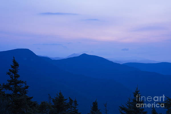 Mt Tecumseh - Waterville Valley New Hampshire Usa Art Print
