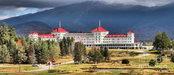 Photograph - Mt Washington Omni Resort  by Adam Jewell