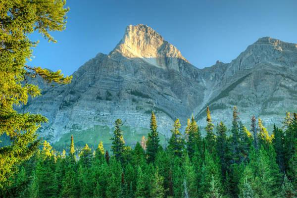 Mt. Wilson Photograph - Mt Wilson In The Morning Sun by Douglas Barnett