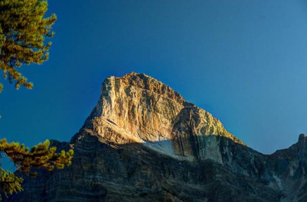 Mt. Wilson Photograph - Mt Wilson Peak At Sunrise by Douglas Barnett