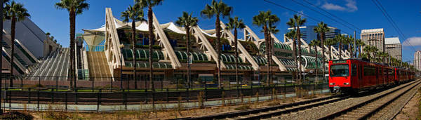 Wall Art - Photograph - Mts Commuter Train Moving On Tracks by Panoramic Images