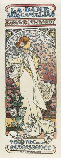 Camelia Photograph - Mucha, Alphonse Maria 1860-1939. The by Everett