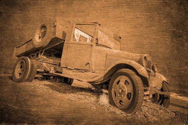 Dump Truck Photograph - Mud Runner by Wes and Dotty Weber
