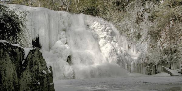 Swallow Falls State Park Wall Art - Photograph - Muddy Creek Falls Winter by Neal Blizzard
