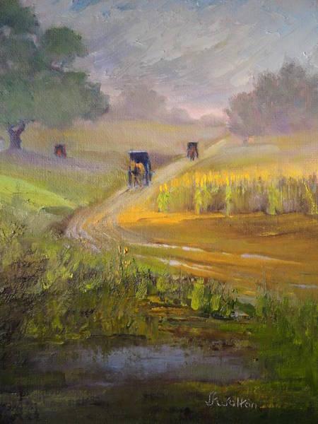 Painting - Muddy Roads by Judy Fischer Walton