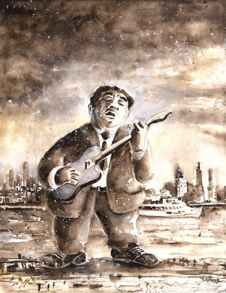 Painting - Muddy Waters In Chicago by Miki De Goodaboom