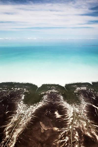Broome Photograph - Mudflats by Paul Williams