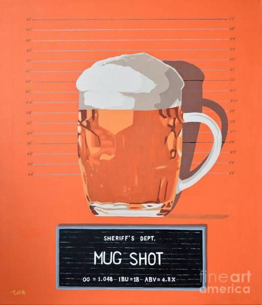 Painting - Mug Shot by Laura Toth