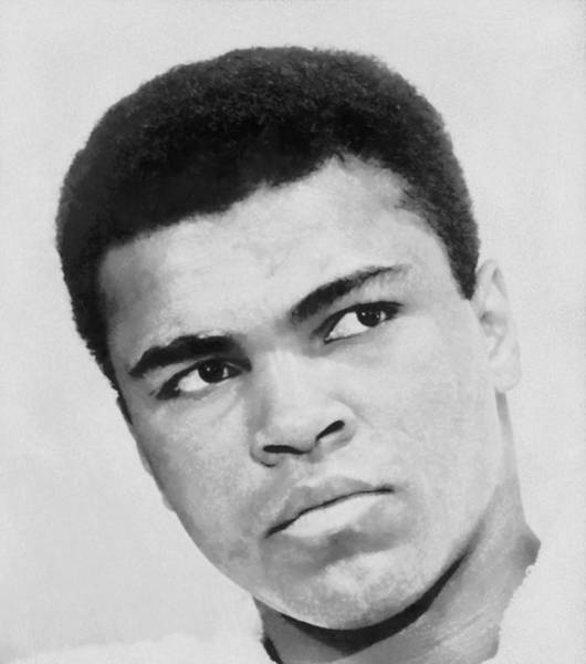 Dope Painting - Muhammad Ali by Dan Sproul