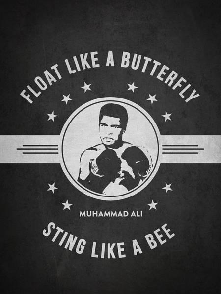 Clay Digital Art - Muhammad Ali - Dark by Aged Pixel