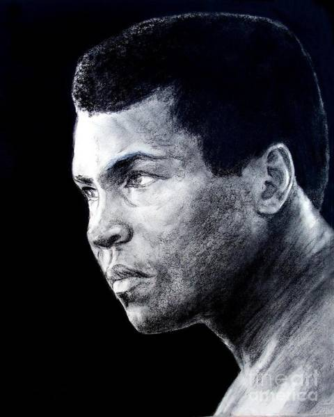 Wall Art - Drawing - Muhammad Ali Formerly Known As Cassius Clay IIi by Jim Fitzpatrick