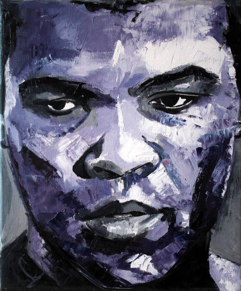 Boxing Painting - Muhammad Ali by Richard Day