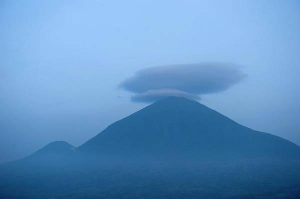 Inactive Photograph - Muhavura Volcano by Dr P. Marazzi/science Photo Library