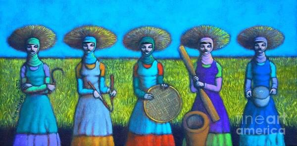 Wall Art - Painting - Mula Karet Hanggang Kaldero by Paul Hilario