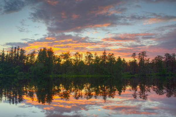 Mullica River Sunset Art Print