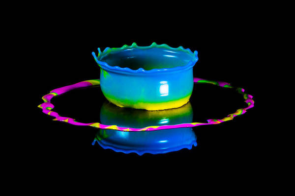 Photograph - Multicoloured Bowl by Jaroslaw Blaminsky