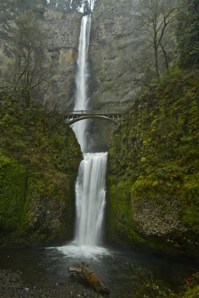 Photograph - Multnomah Falls 0403131b by Todd Kreuter