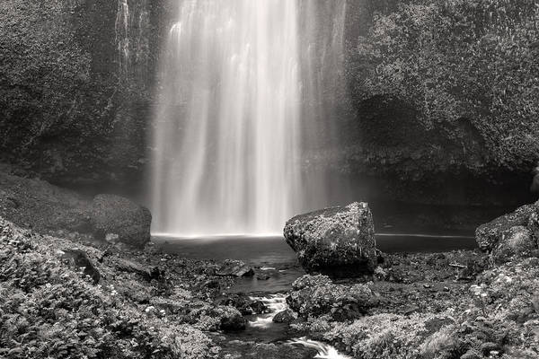 Photograph - Multnomah Falls In Black And White by Pierre Leclerc Photography
