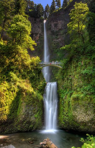 Photograph - Multnomah Falls by Michael Ash