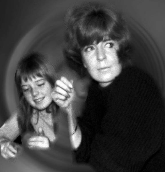 Photograph - Mum Chris With  Daughter Colette1966 by Colette V Hera  Guggenheim