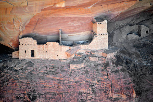 Photograph - Mummy Cave Ruin Canyon Del Muerto by Christine Till