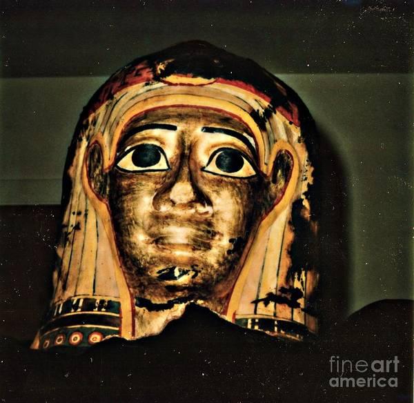 Ptolemy Digital Art - Mummy Mask by Steven  Pipella