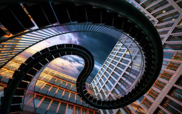Urban Photograph - Munich Black Snake by Jes?s M. Garc?a