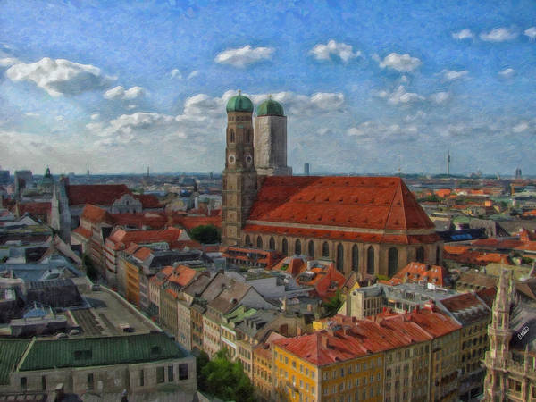 Painting - Munich Ger3913 by Dean Wittle